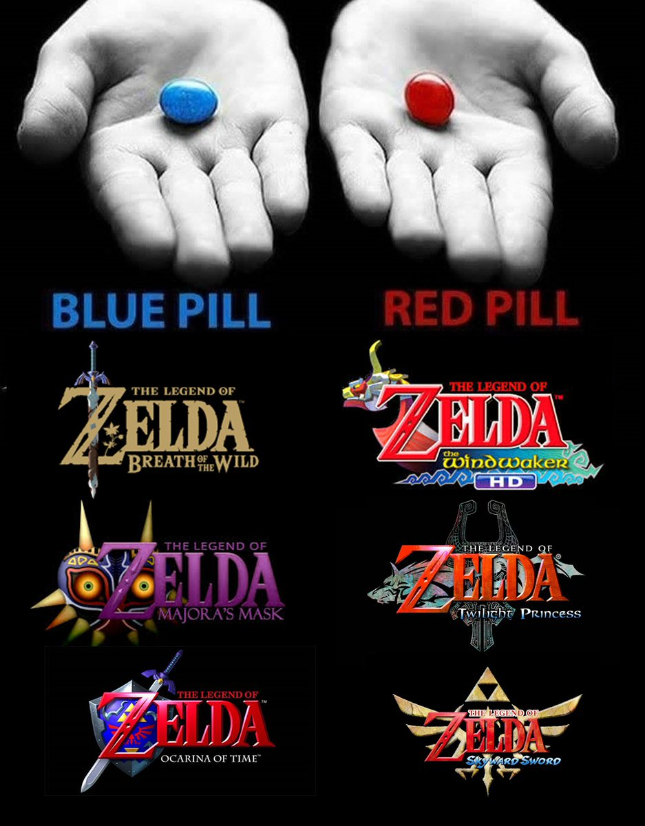 Which pill would you take? 💊