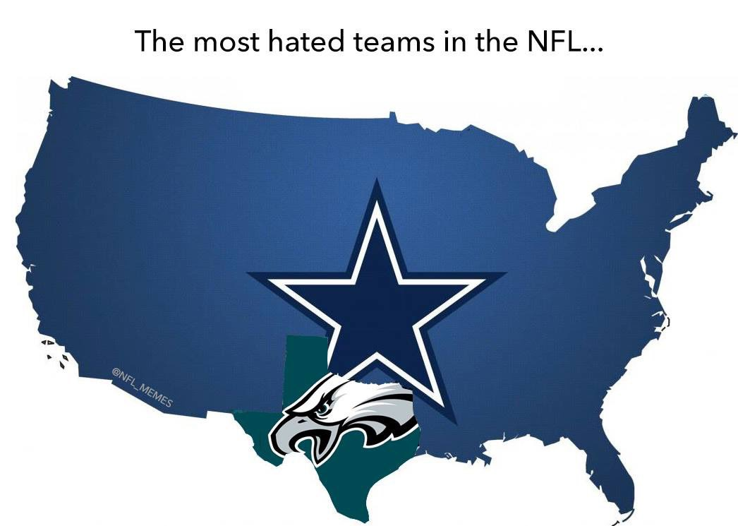 #CowboysNation #DallasCowboys  #AmericasTeam They hate us because they ain't us!<br>http://pic.twitter.com/PgUBKlk35F