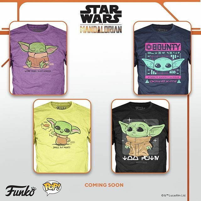 Coming Soon: Funko Tee! Star Wars™: The Mandalorian —The Child ift.tt/2Tr8ZOd
