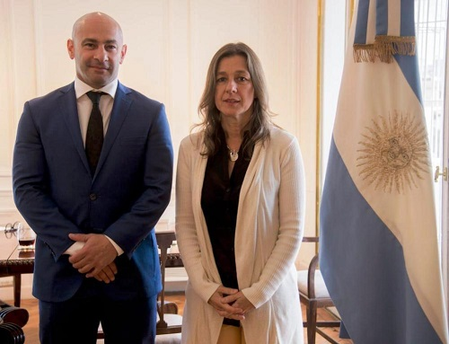 . @massonifederico  se reunió con @SabinaFrederic #narcotrafico #tratadepersonas https://t.co/y9AN0YaKL1 https://t.co/5LUDmrZ5Ly