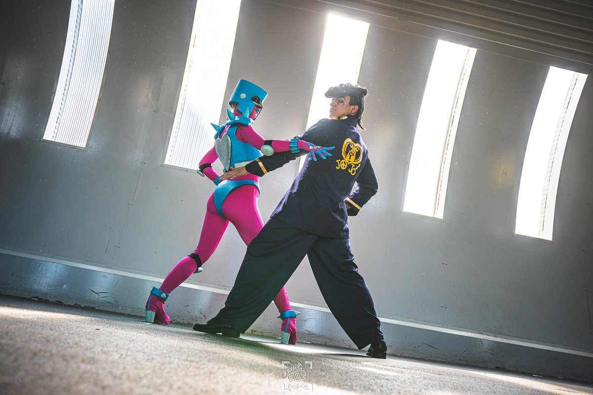 Yuux On Twitter Stand Stand User Josuke And Crazy Diamond Appreciation S Post Dmcosplay And I Were So Happy To Do This Cosplay Duo Kayaba Jjba Fr Jojo Jojo diamond is unbreakable персонажи: cosplay duo kayaba jjba fr jojo