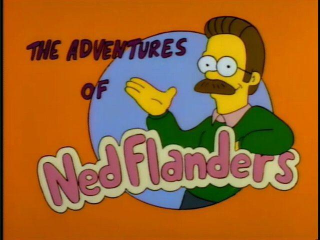 """Hens love roosters, geese love ganders, everyone else loves Ned Flanders!""<br>http://pic.twitter.com/TKQ2GDtFpw"
