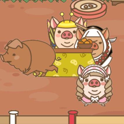 【ようとん場MIX】本格豚育成ゲーム 豚を育てて出荷しよう #ようとん場MIX #yotonmixおはようございます。ウチのわちゃわちゃ軍団は、コタツをめぐって争っております😅もふもふさんは全く来てくれないですね💦今日も宜しくお願いします😃🌸🐽🍀