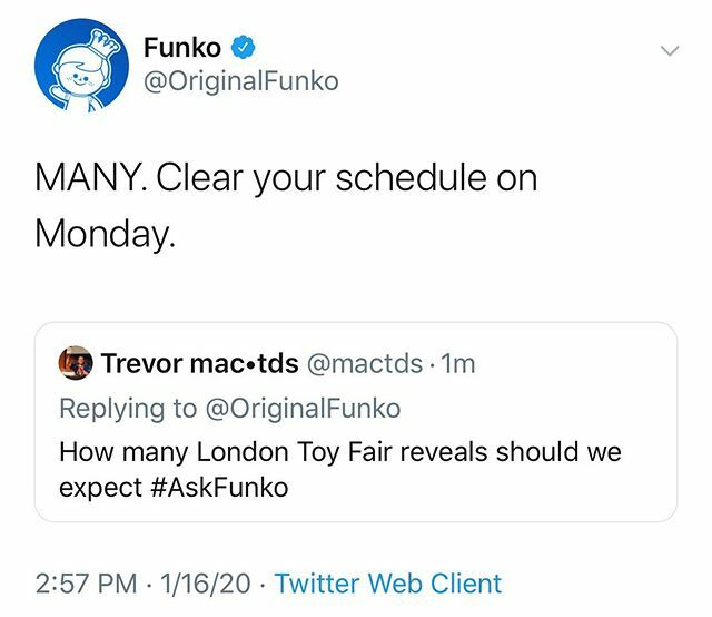 London Toy Fair kicks off next week and with it a ton of Funko reveals. Are you ready? ift.tt/2NxM3ZD