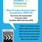 Image for the Tweet beginning: Most Creative Business Idea Competition