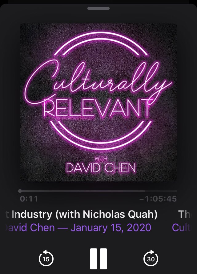 What is this, Cool Asian Dudes I Know Guesting On Cool Podcasts Day?! @nwquah @parkrandall @CREVSHOW @WTFpod