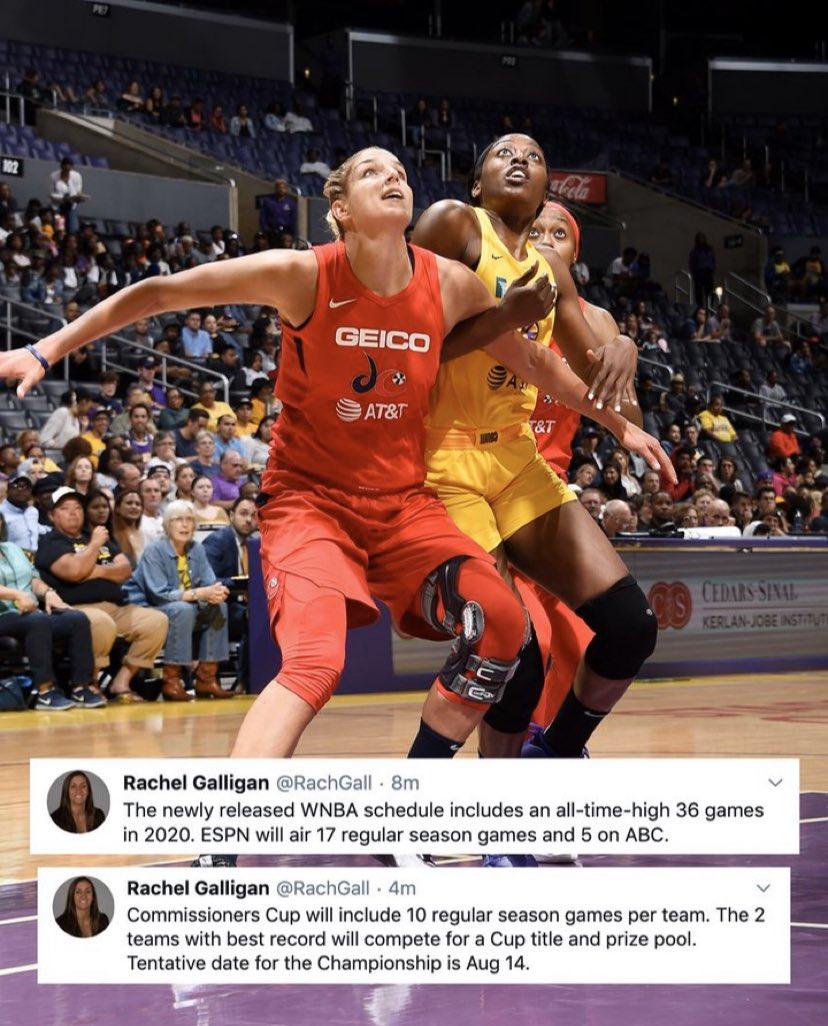 Follow Us  @wnbadaily  Follow Us on Twitter @ dailywnba • • • • #Basketball #Bball #Ballislife #Dunk #Slamdunk #Basketballislife #Basketballgame #Basketballneverstops #Basketball#Basketballtraining #NBA #Slamdunk #Hoops #Basketballtime #Basketballcourt #Layuppic.twitter.com/GH3yK8XxpW