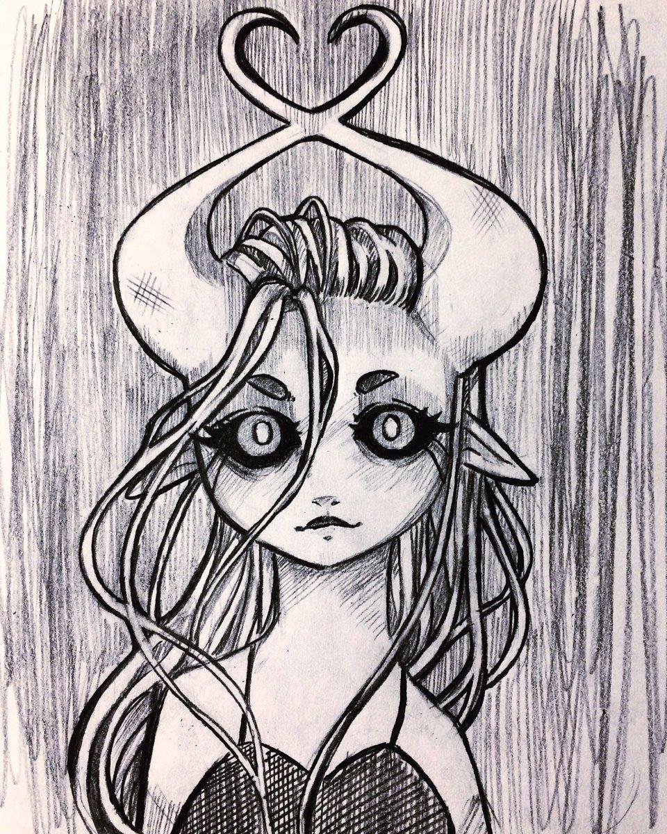 #myart #myartwork #sketch #drawing #demongirl https://t.co/gRNePIZNp9