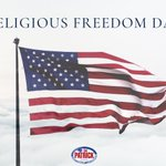 Image for the Tweet beginning: Religious liberty is the underpinning