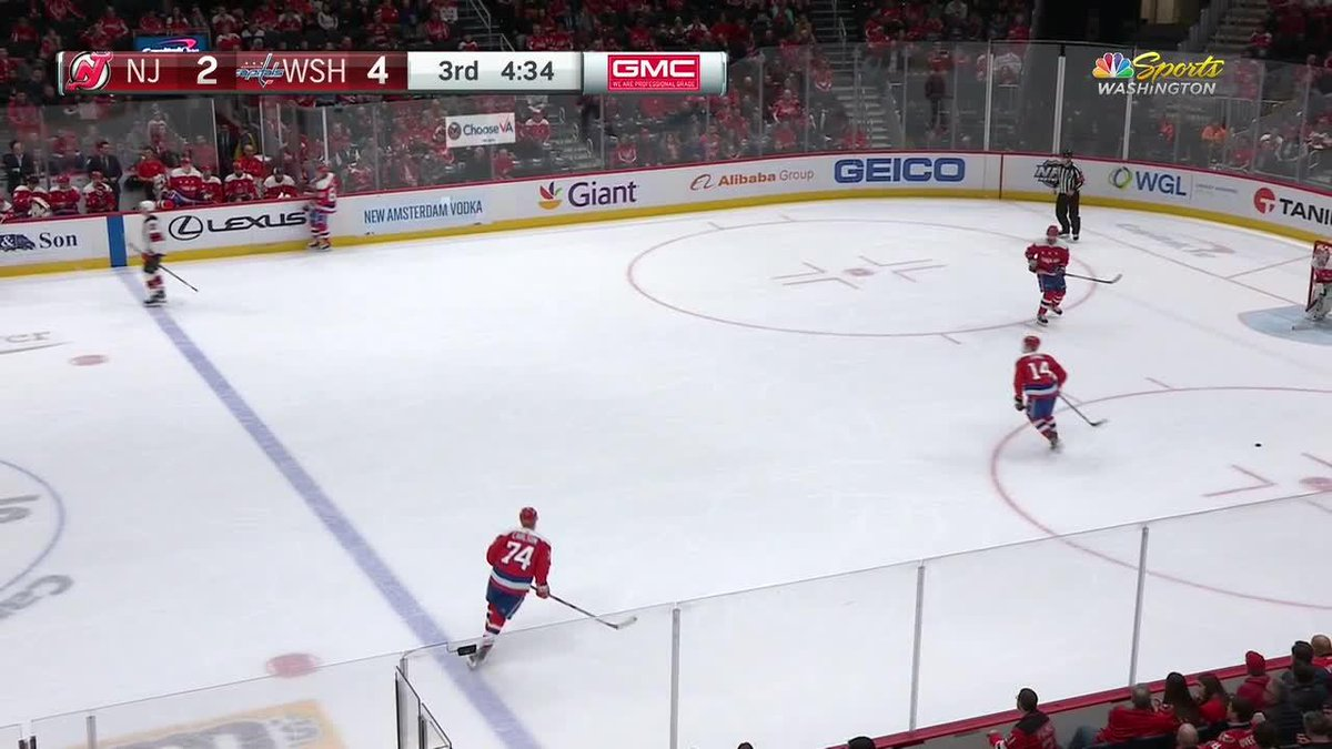 NHL Star Scores Goal Off Of Absurd Pass. The Video Is Wild