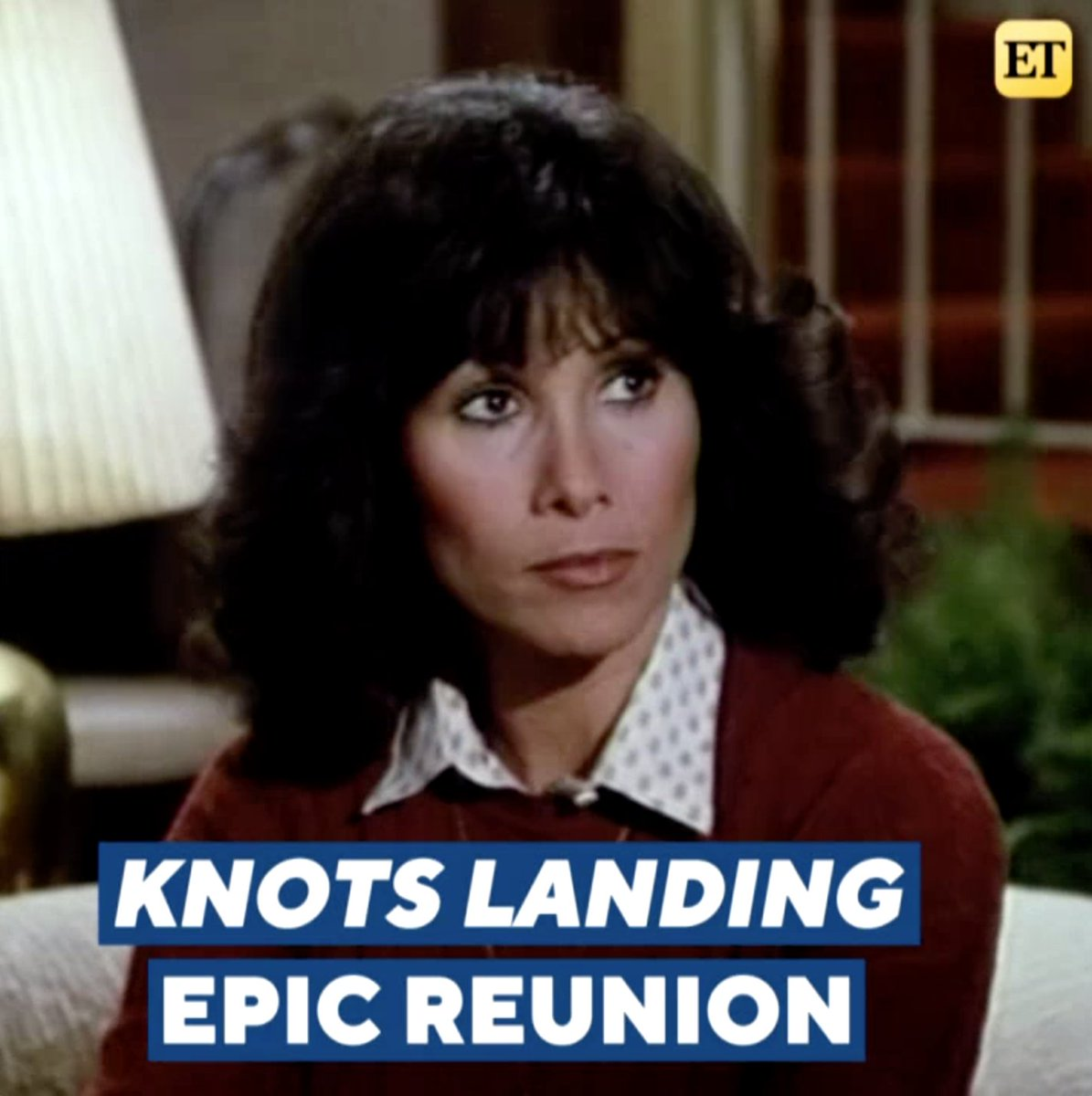 Only we could bring the ladies of 'Knott's Landing' together for the most epic reunion-- But will there be a new love interest thrown into the mix?! Tune in tonight for a special comeback surprise! 💕