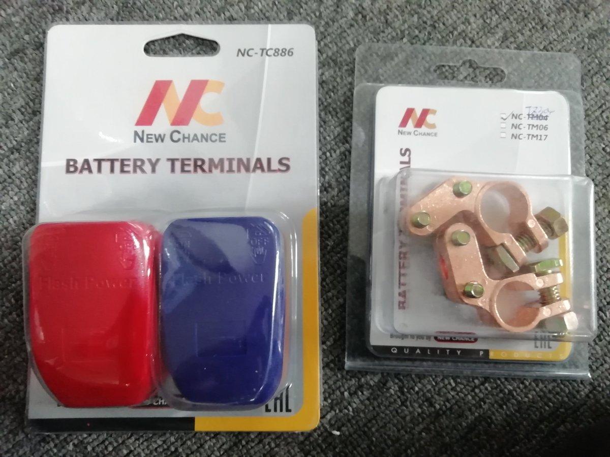 #batteryterminal #zinc #aluminumalloy #brass Well packaged All from #newchancegroup #batterycharger #smartcharger #customizedcharger #customized #winterstyle pic.twitter.com/WRpAzJBhQN