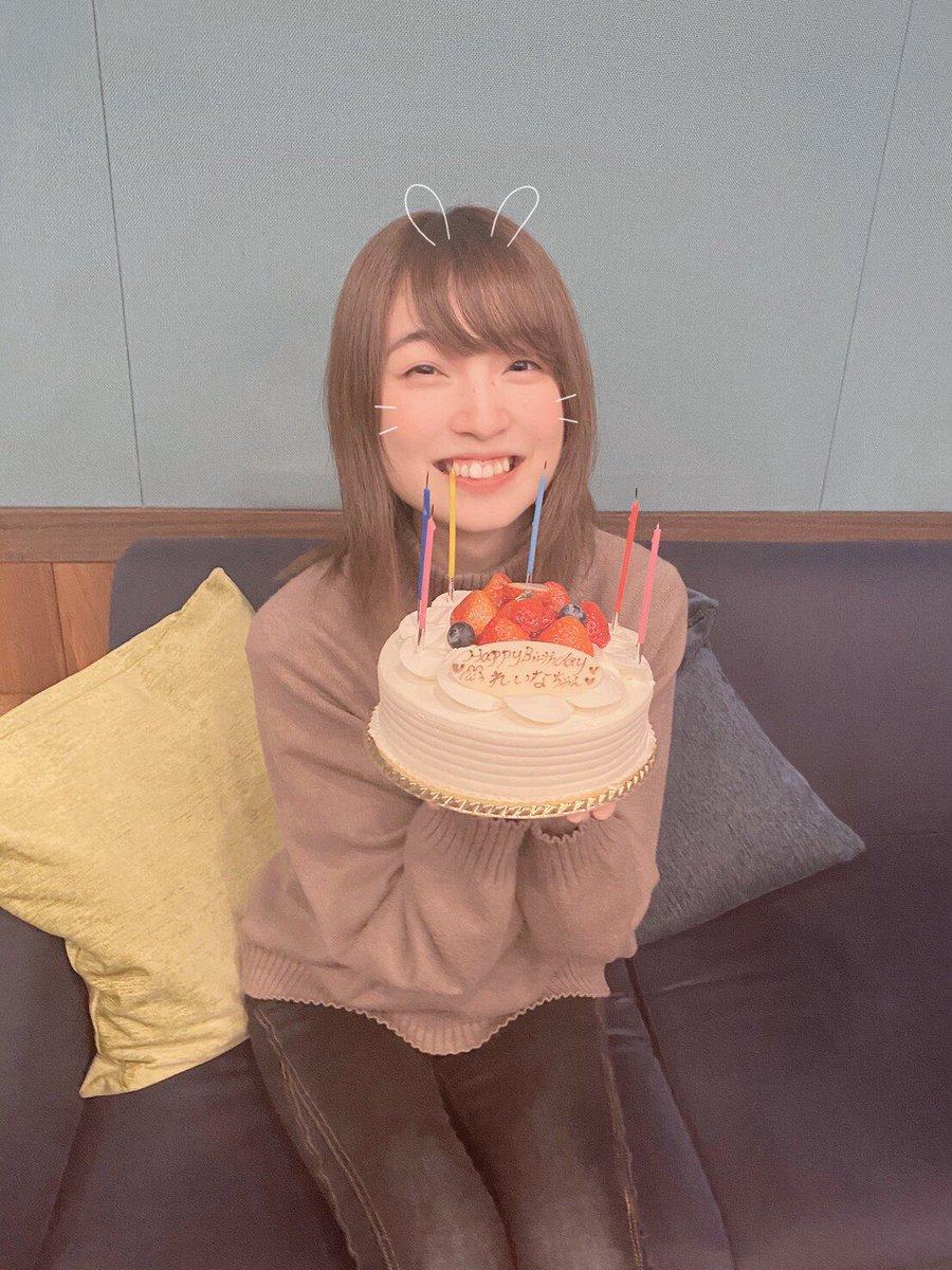 本日は上田麗奈の誕生日です🎂お誕生日おめでとうございます🎉2020年は、アルバム発売に初ライブとアーティスト活動もございます!沢山準備しておりますので、お楽しみに✨#上田麗奈 #Empathy