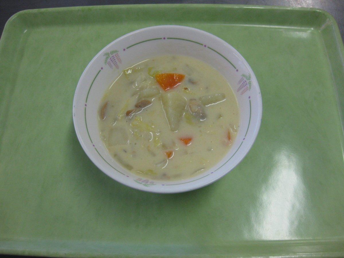 【学校給食レシピ公開】クックパッドの公式キッチン「春日部のおいしい学校給食レシピ」に、「はくさいシチュー」のレシピを追加しました。 他にも学校給食のレシピを紹介していますので、ぜひご覧ください(・v<)#春日部 #給食