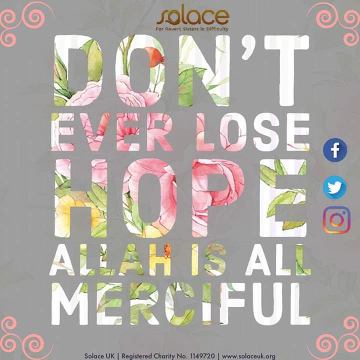 #True #NeverLoseHope as long as you are relying on ALLAH Almighty  <br>http://pic.twitter.com/WFW9PHsFke