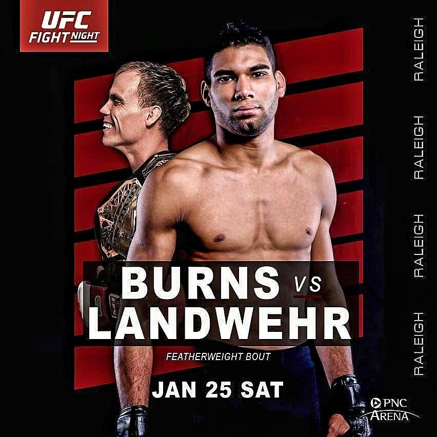 🔥 #UFCRaleigh 🔥 The Blaze time! @ufc @UFCBrasil