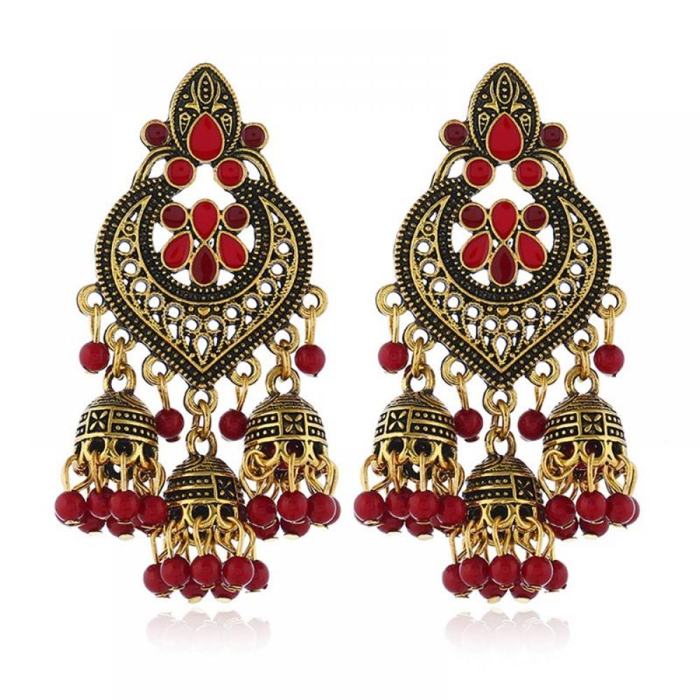 Indian Bollywood Red Green Colorful Jhumka   #India #indian #indianwedding #indiana #indiapictures #indianblogger #indianfashion #IndianPhotography #Indiaclicks #indianfood #indianbride #indianapolis #indianhair #indianwear #indiansummerpic.twitter.com/BdJaM5Hok9