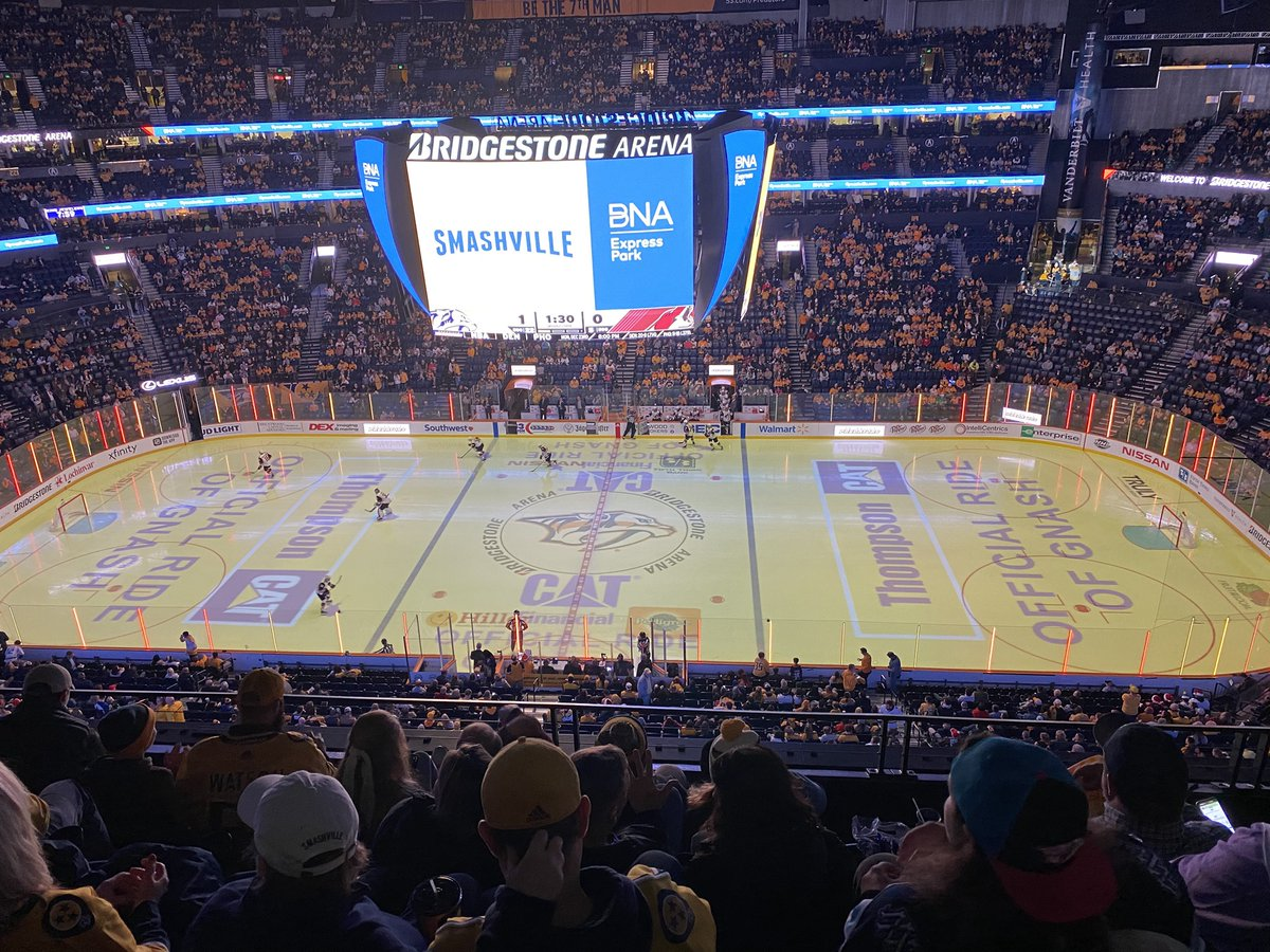 Who is ready for another @PredsNHL home game tonight??  We sure are   Snap a picture of @Gnash00 in the Cat UTV, or of the Thompson Cat logo in the arena, and tag us in your post for a chance to win a Cat-themed prize   #Smashville #LetsGoPreds  #Gnash #CatUTV<br>http://pic.twitter.com/UZwMwfaxBs