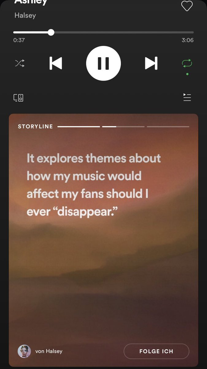 "this made me so sad  ""...should I ever disappear"" NO pic.twitter.com/k7TYj7aQRY"