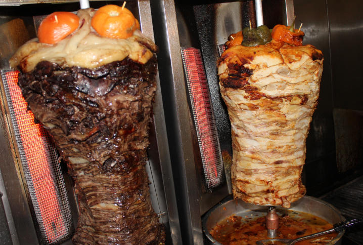 shawarma is not kebab , be carful