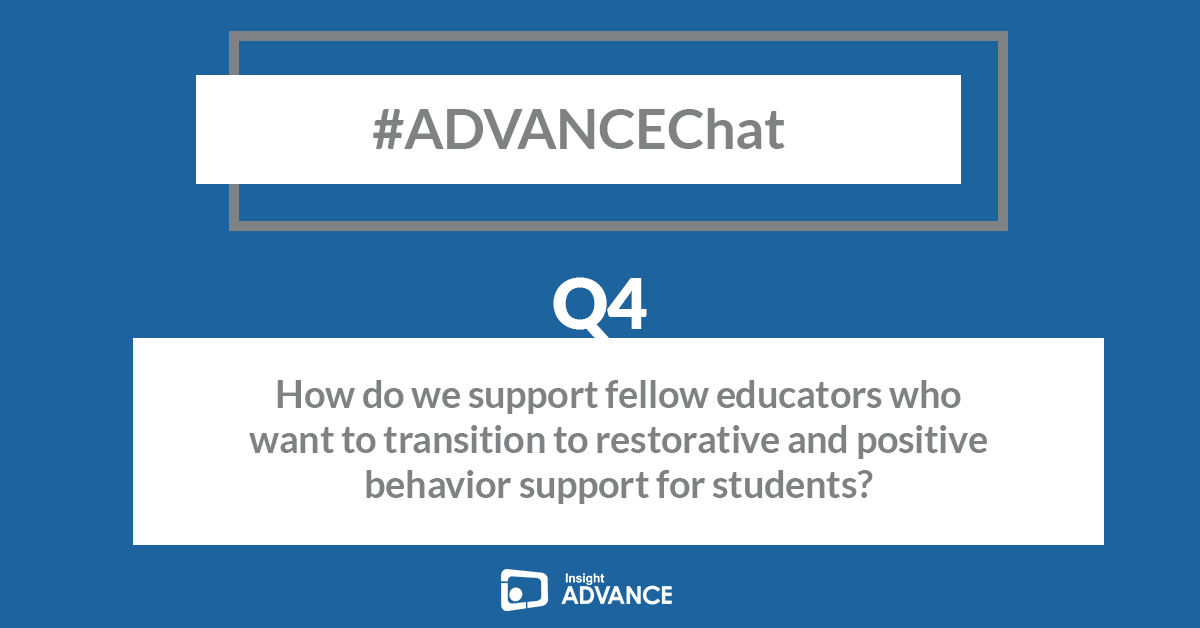 Thank you all for sharing. Up next Q4! #ADVANCEChat