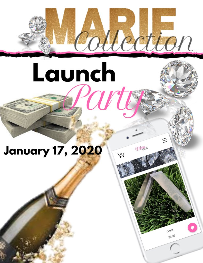 I'm finally done  Launching @ 12am   #BossLady #ASU #Georgia #Albany #Entrepreneur #ExplorePage #LipGloss #LipGlossChallenge   http://mariecollect.wixsite.com/mariecollection pic.twitter.com/VNqXR2FmcC