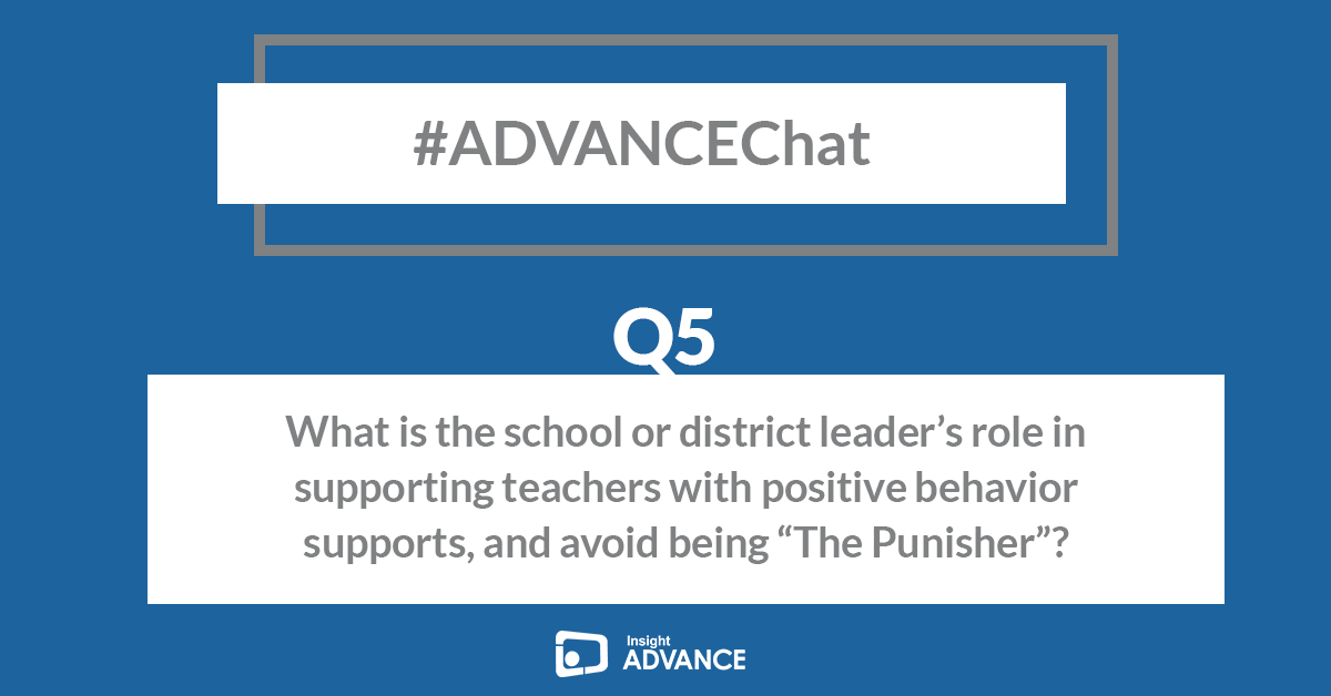 We're already to our final Q of the evening - Q5 - #ADVANCEChat