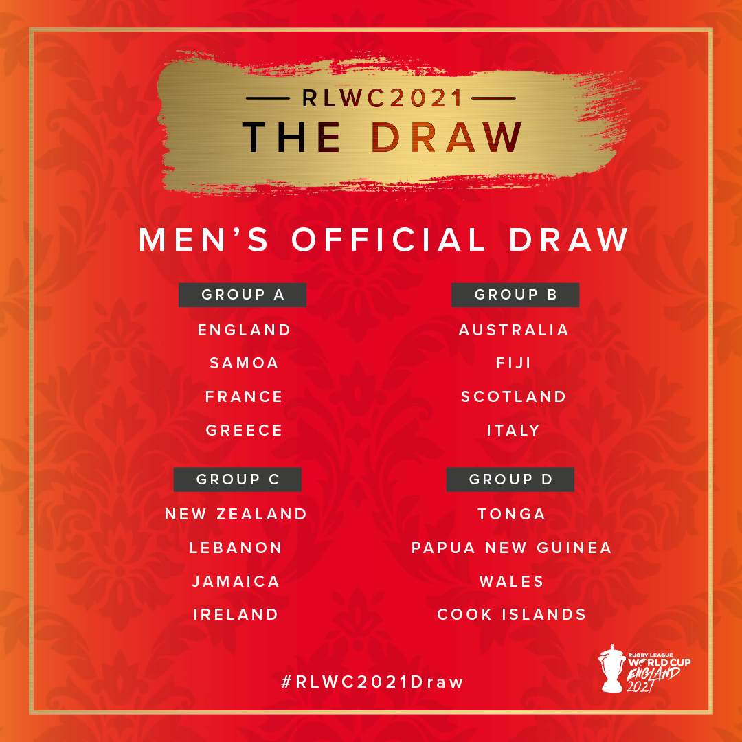 The draw is complete for our FI-TA supported nations at the 2021 Rugby League World Cup #TOASAMOA #PNGKumuls #GreekRLA #RLWC2021   FI-TA, part of the Essential Sports Group!  #EssentialSportsGroup #MyClubShop #TeamMasita #FITA #GPA #LinebreakCompressionpic.twitter.com/Ec3nio0Zry