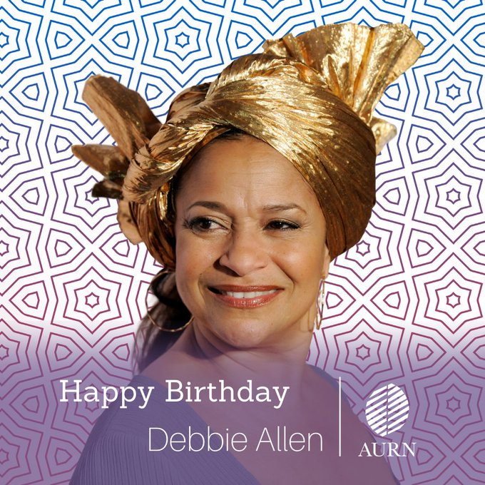Happy Birthday to Debbie Allen!