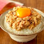 【簡単】さば缶のユッケ風!極ウマ楽速レシピ
