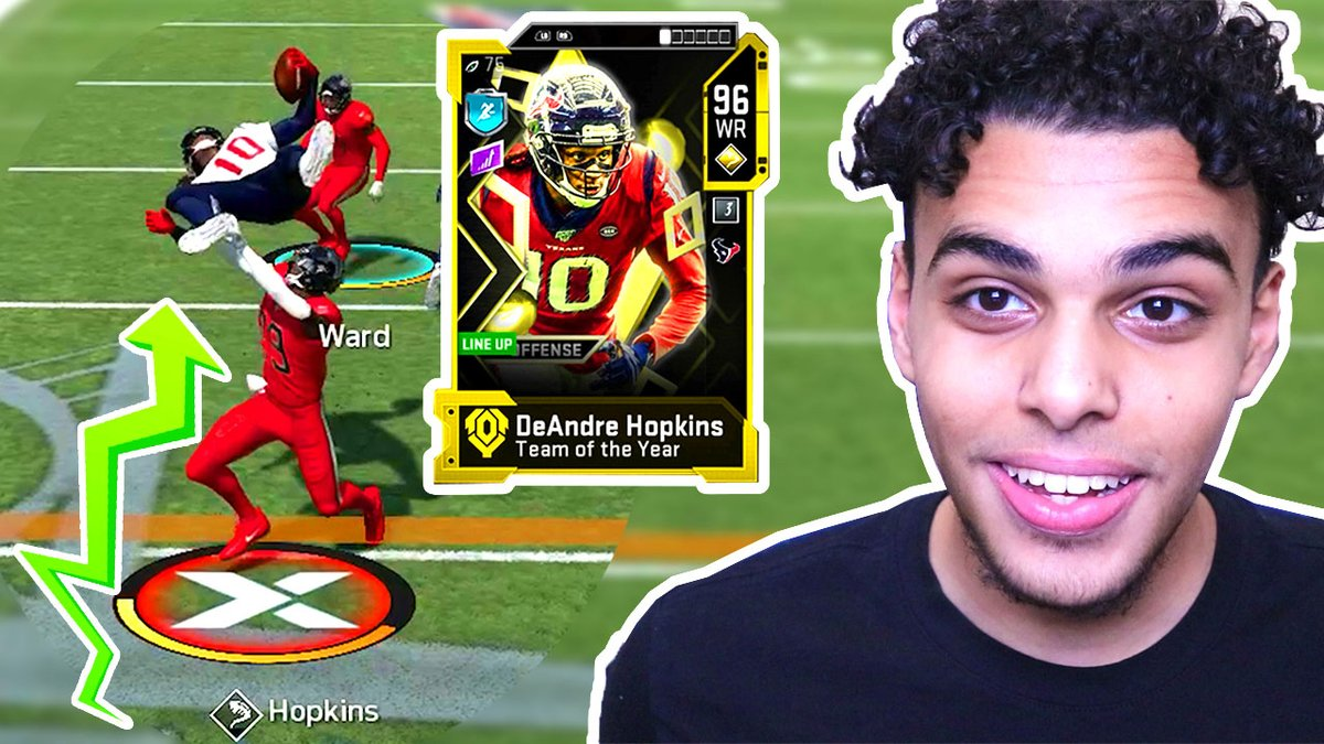 TOTY DEANDRE HOPKINS with LEAP FROG ABILITY is CHEESY! Madden 20 Ultimate Team https://youtu.be/akWvxz2FprApic.twitter.com/GDEgUFWU5h