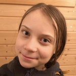 Image for the Tweet beginning: Does climate activist Greta Thunburg
