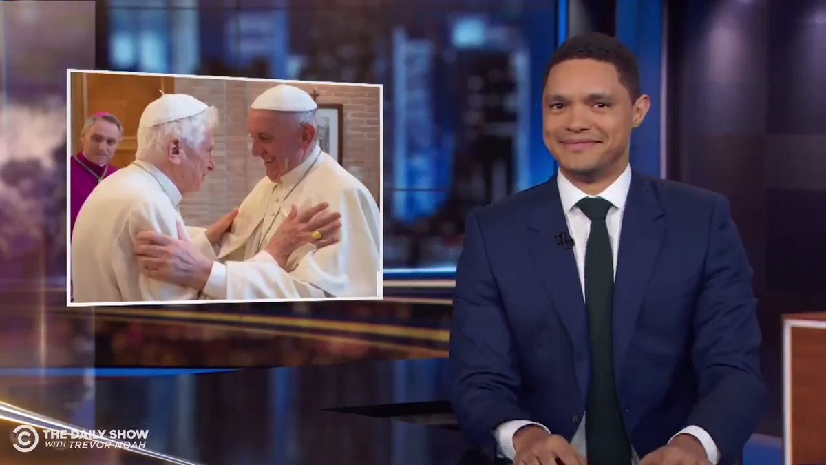 """TONIGHT: """"The Two Popes"""" just got a spicy sequel as Pope Francis and Pope Benedict debate celibacy for priests."""