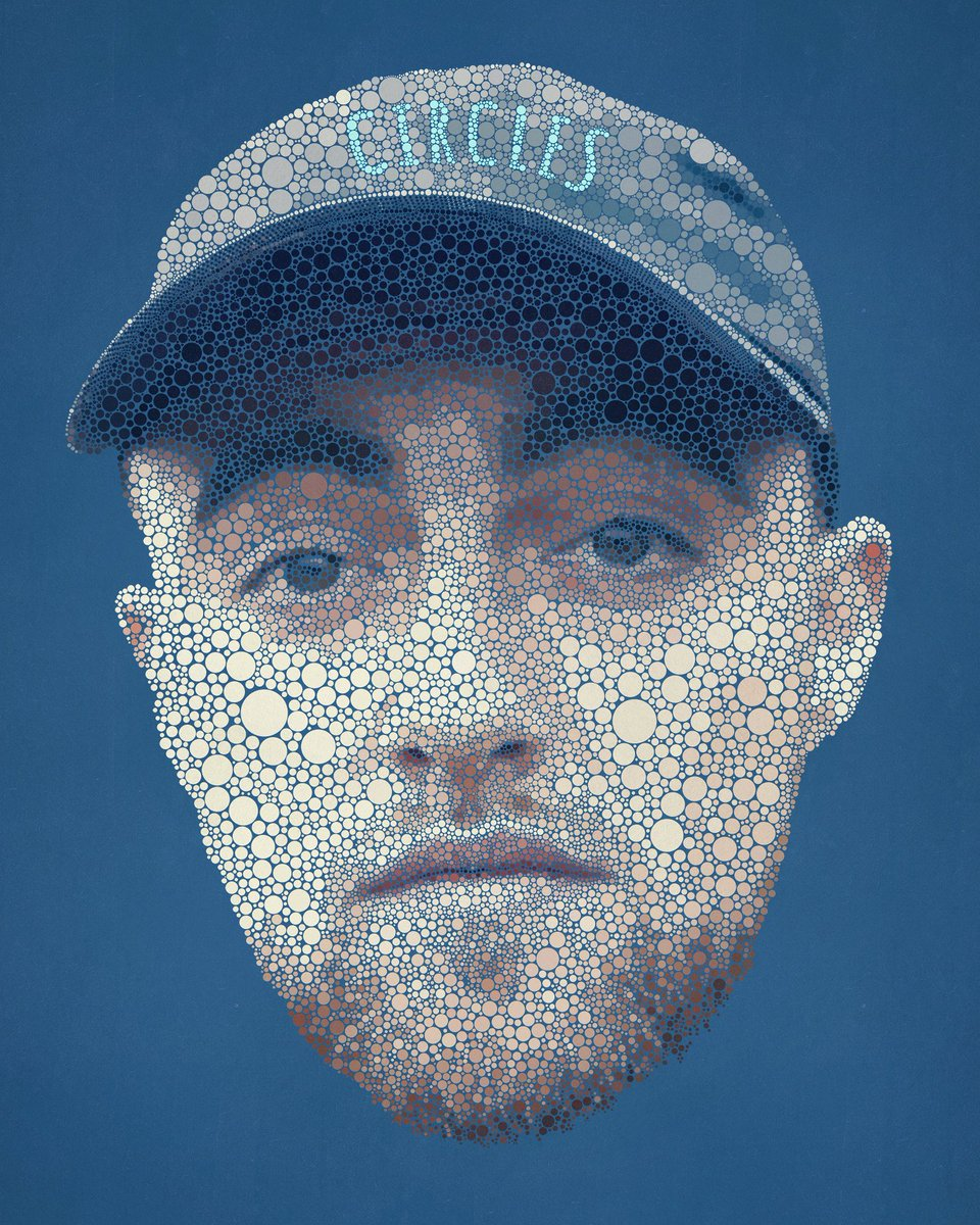27,942 circles later, I finally finished my Mac Miller illustration. 92 TIL INFINITY