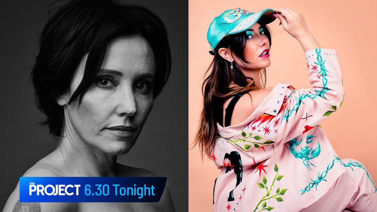 Tonight: @chksingr and @Ella_Hooper stop by the desk! #TheProjectTV