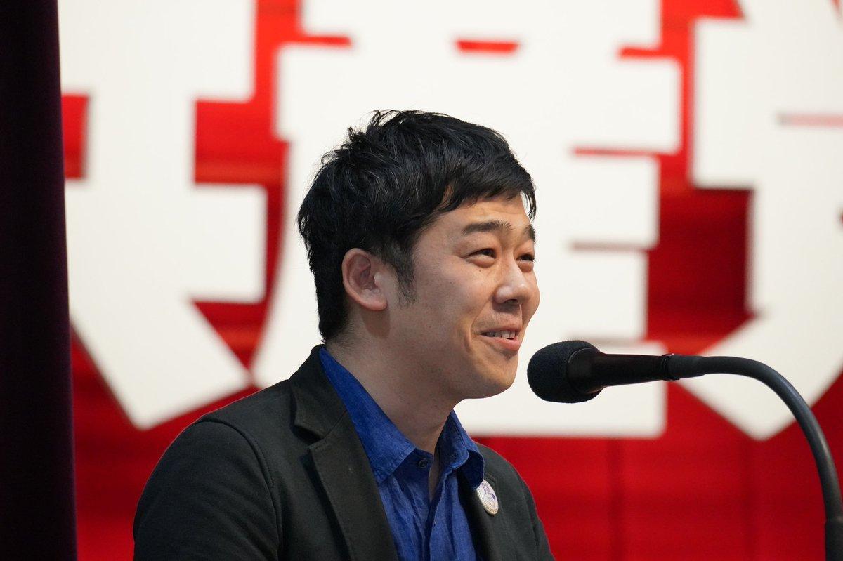 日本共産党第28回党大会3日目 高知県知事選に野党共同候補として出た松本けんじさん。 応援の45人の国会議員を招いた昼食会、野党各党のお歴々と志位委員長の席に案内され、自分は一般人(^^と言うだけに何喋って良いか分かんないから、最大の笑顔で相槌を打ってその一時間を乗り切った!と爆笑でした。 https://t.co/vx0JzPf79k
