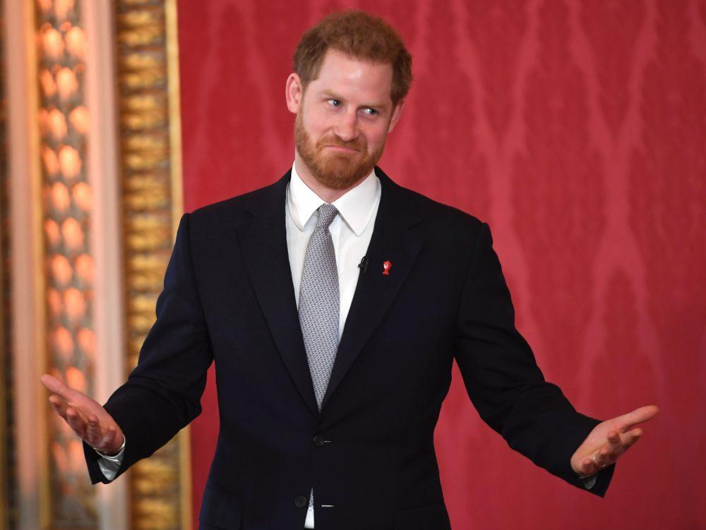 Prince Harry draws for Rugby World Cup in first and last appearance as full-time royal