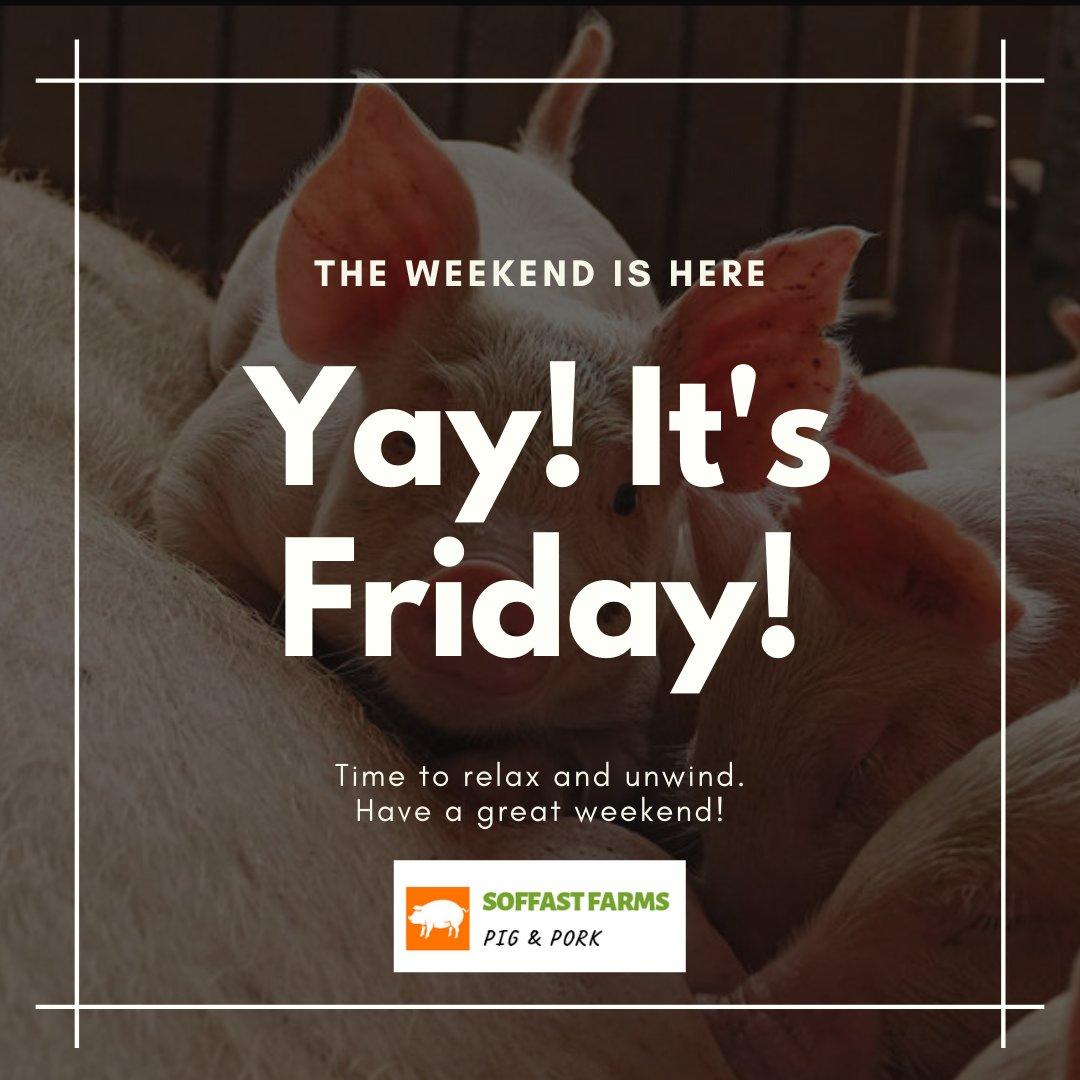 Have some pork this weekend... ----------- #tgif #tgifridays #tgifriday #TGIFF #tgiffridays  #tgifmood #TGIFlair  #tgifnight #TGIFinSG #TGIFparties #tgifbook #tgifridaydab #tgifoakwoodplaza #tgifreshfridays  #tgifrday #soffastfarmspic.twitter.com/yYrBCxsFCT