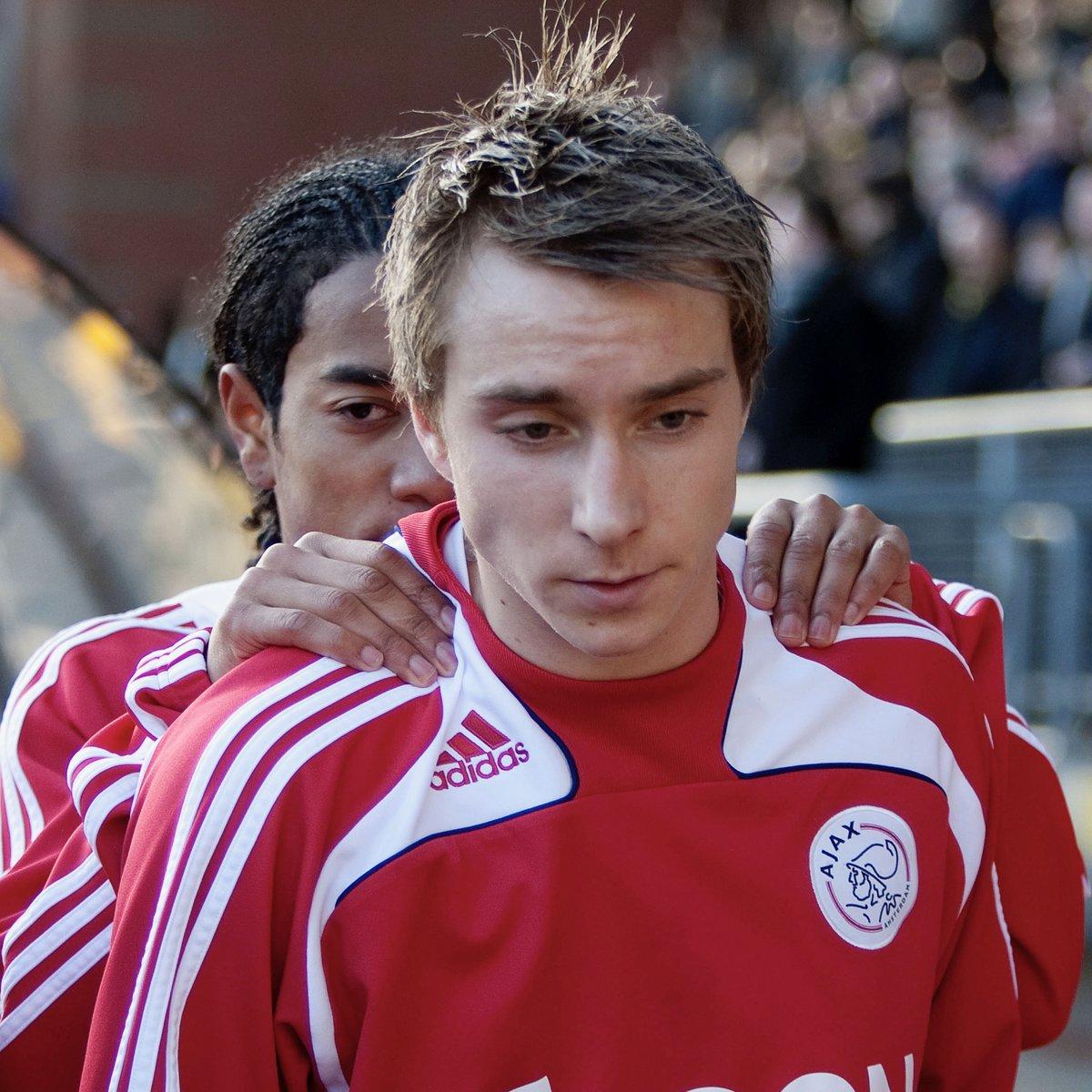 Today 10 years ago @ChrisEriksen8 made his debut... ⭐️ ☑️ NAC Breda vs Ajax ☑️ 17 years old ☑️ #ForTheFuture