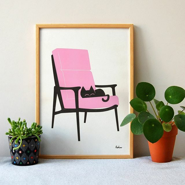 Pink pink NEON piiink!! This is one of our newest prints and it's very pink!! It will brighten up any corner!  . . .  #artprint #showyourwork #onmydesk #creativehappylife #illustratedlife #creativelife #creativityeveryday #creativeliving #wearethem… https://ift.tt/2NxJ83ppic.twitter.com/0N4JWCX1EA