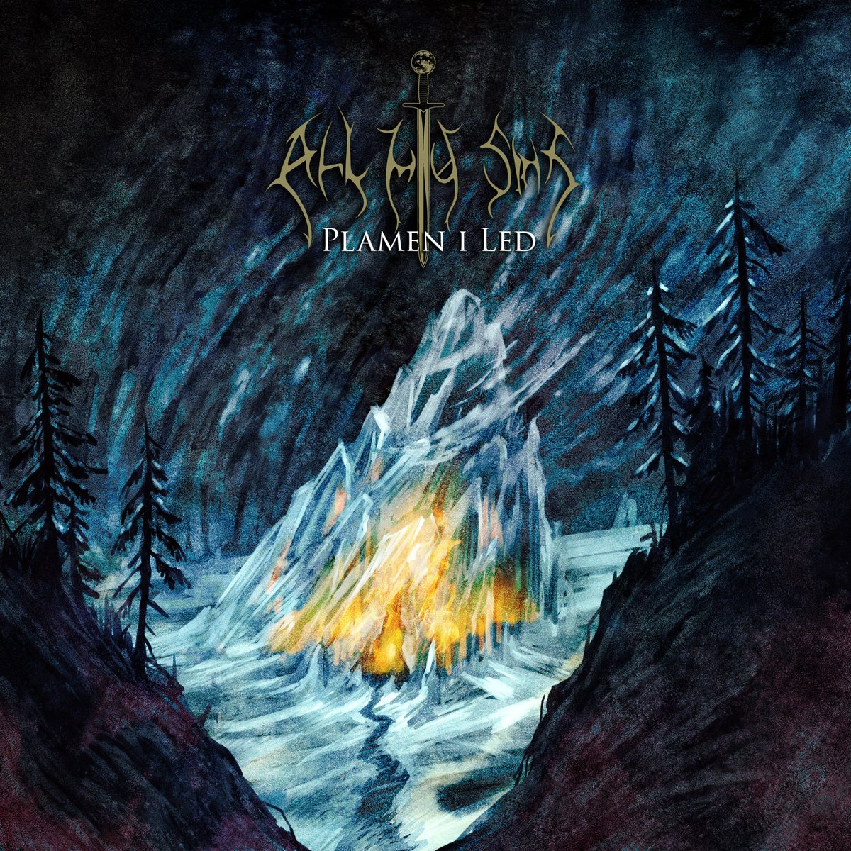 """""""Winter has gathered the wolves, Once again in the southern lands!"""" #cd #ep #All_My_Sins #atmospheric #pagan #blackmetal pic.twitter.com/SnZ5fQYGH9"""