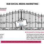 Image for the Tweet beginning: Gated🚪Content generates leads by asking
