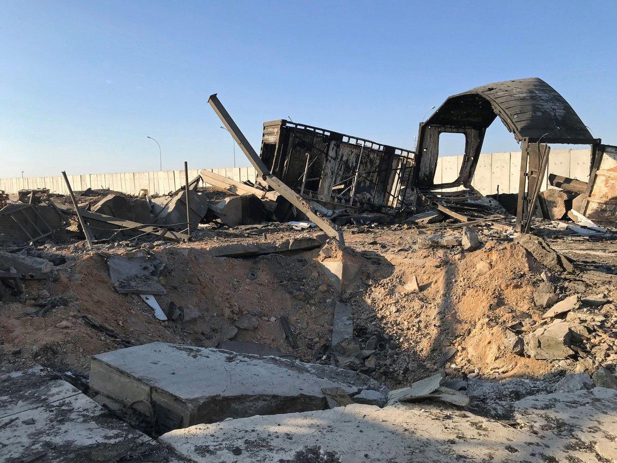 Потери на базе Айн-аль-Ассад