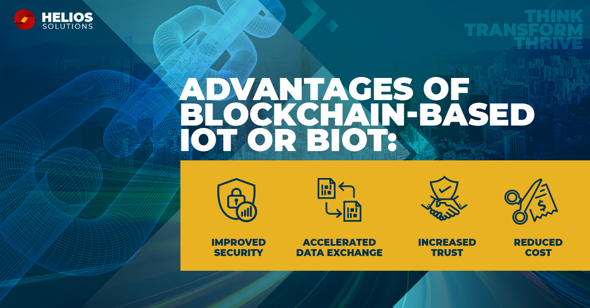 Be it #Blockchain, #IoT or a combination of both, #HeliosSolutions helps you get ready for the next era of #digitaltransformation. #BIoT #Blockchainsolution #TechnologySolutions #EnterpriseITCompany #InternetOfThingspic.twitter.com/uTeWFL6oj5