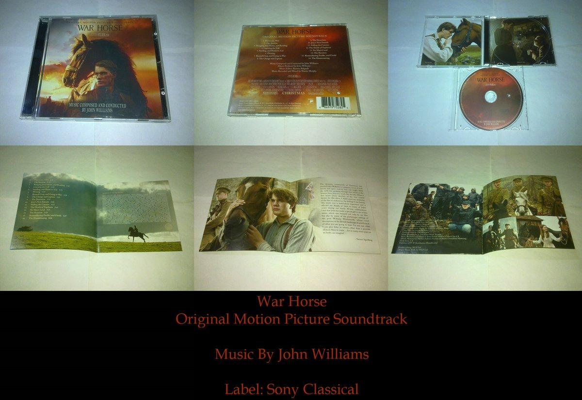 #แกะซีดี WAR HORSE Original Motion Picture Soundtrack #JohnWilliams | #soundtrack #cdcollection #ม้าศึกจารึกโลกpic.twitter.com/HwwYqzkfeP