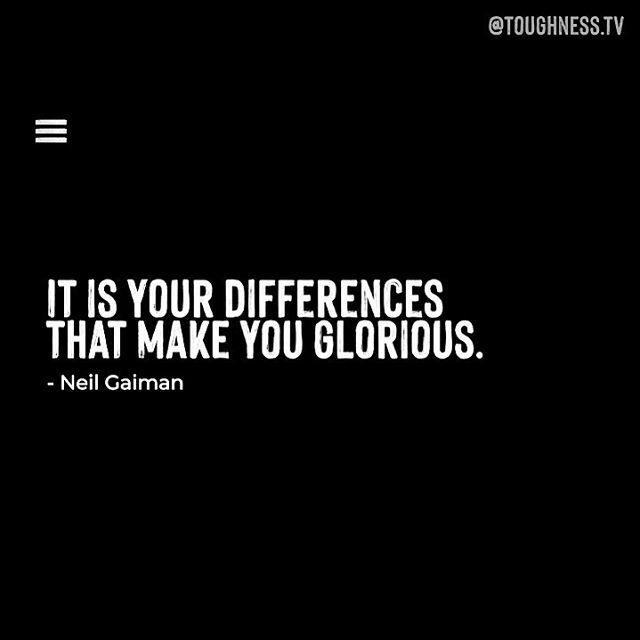 Want to know how @neilhimself embraces toughness? 💎 Stay tuned in our feed for the full video 🎥 . . . . . . #toughness #motivationalquotesoftheday #inspiration #neilgaiman #thesandman #inspirationalwords #dailyinstainspo #quotestoinspire #quotesaboutlife  #stardust #writingi…