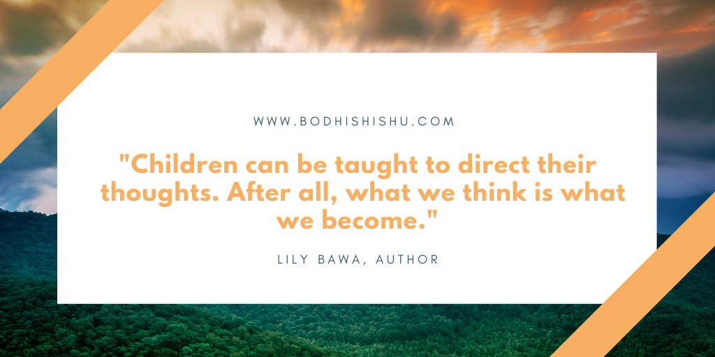 If we believe that our thoughts decide our destiny, then it becomes very important to teach our kids to consciously choose their thoughts and direct them towards the things they want.  #createthefuture #createwithlove #mindfulness #meditation #happylifepic.twitter.com/BhGVpEx7gf