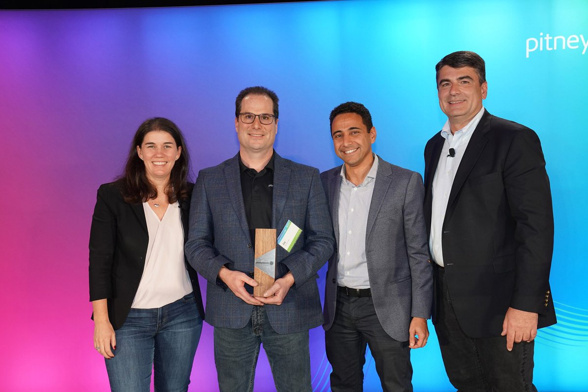 Congrats to Jay Kenney, our Pre Sales, Sales Leadership Winner for 2019 @PitneyBowes #clientsfirst <br>http://pic.twitter.com/uzGB5CQoZ0