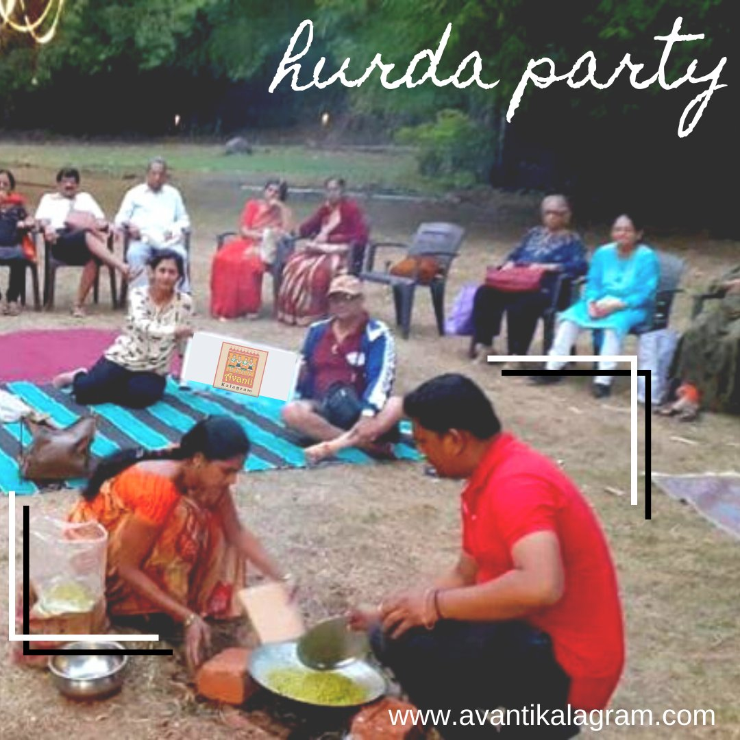 Hurda party to enjoy your family outing and plan to enjoy new season in a rustic way only at Avantikalagram. https://t.co/4ISbI1qqcq . . #hurda #hurdaparty #party #partytime #millet #jowar #farmlife #rural #farmfood #avantikalagram #mulshi #pune #containerhotel https://t.co/6ovSY0LYJk