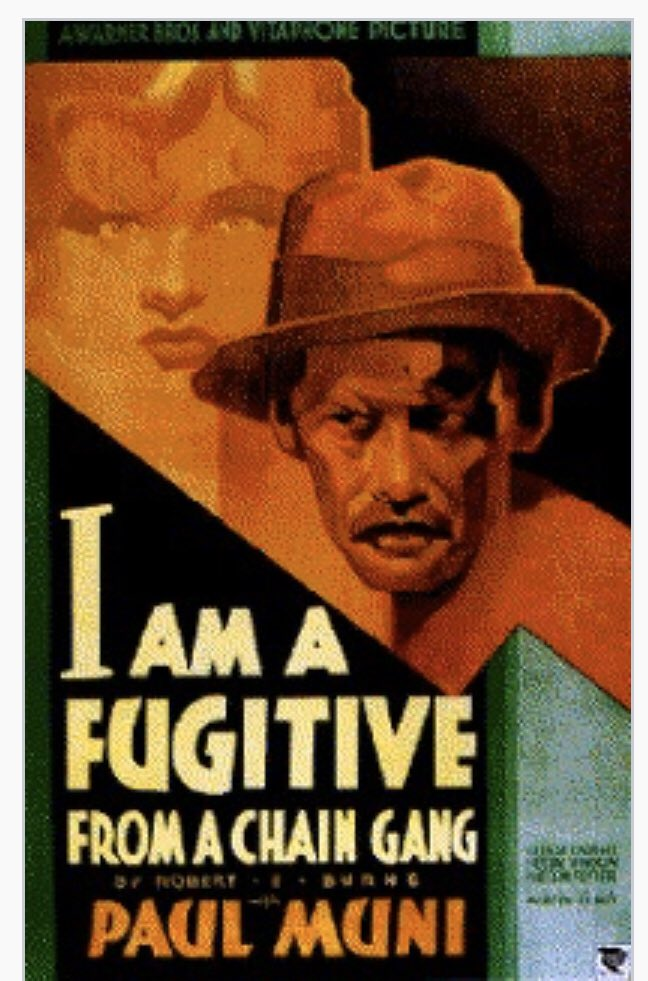 If you've never seen it, well   - In 1991, this film was selected for preservation in the United States National Film Registry by the Library of Congress as being #PaulMuni #ClassicFilms   Controversial and Impactful in American Legal History.  A crackerjack performance by Muni. pic.twitter.com/r0MmPZxN36